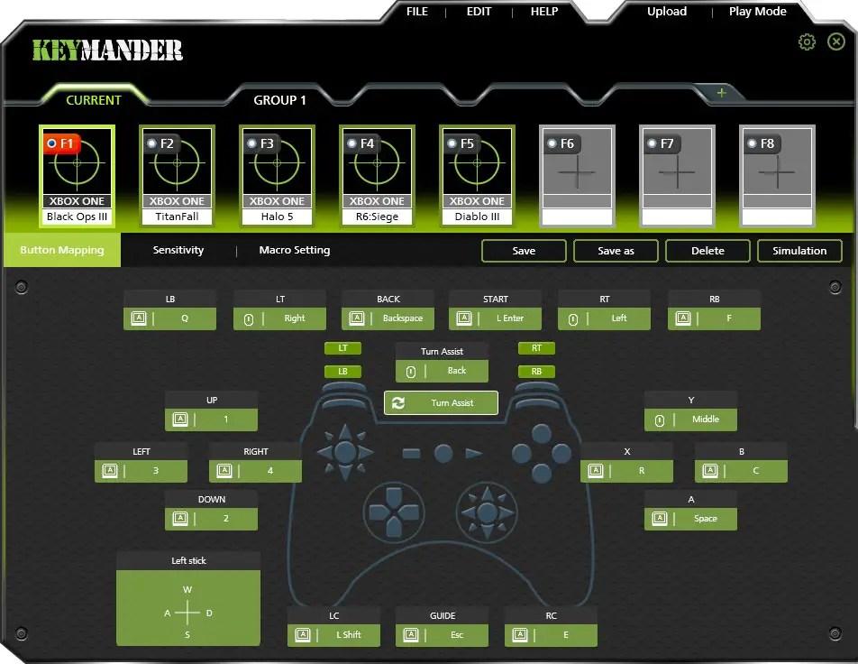 KeyMander-Software