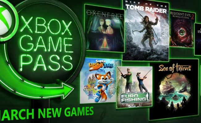 Xbox Game Pass March Update Eight New Games Including Sea