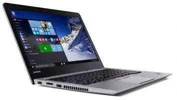 Lenovo-ThinkPad-13-Silver-Open-Left