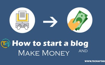 How to Start A Blog and Make Money Thumbnail