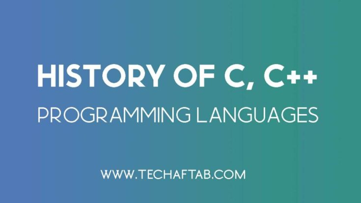 History of C and C++ Languages