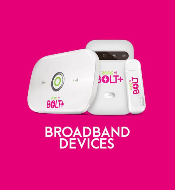 Zong MBB Device