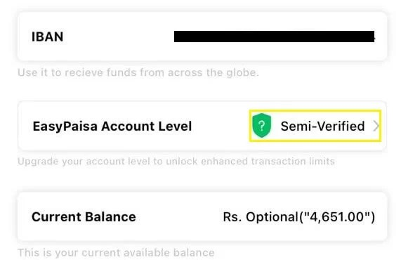 How to Check SendingReceiving daily Limit in EasyPaisa