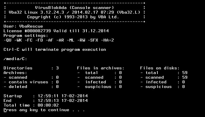 Anvi Rescue Disk v1.1