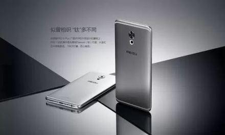 Meizu Pro 7 – Pantalla 4K y cuerpo de titanio