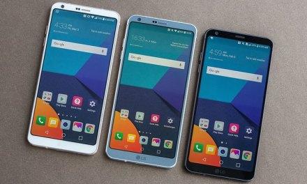 El LG G6 se estrenará hoy en la India.