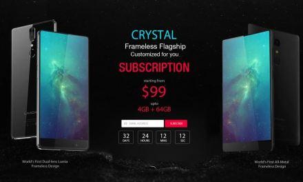 UMIDIGI Crystal un clon del Mi Mix desde 99 dólares