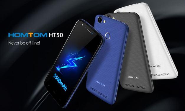 Homtom HT50 – Batería gigante y a 99,99 $