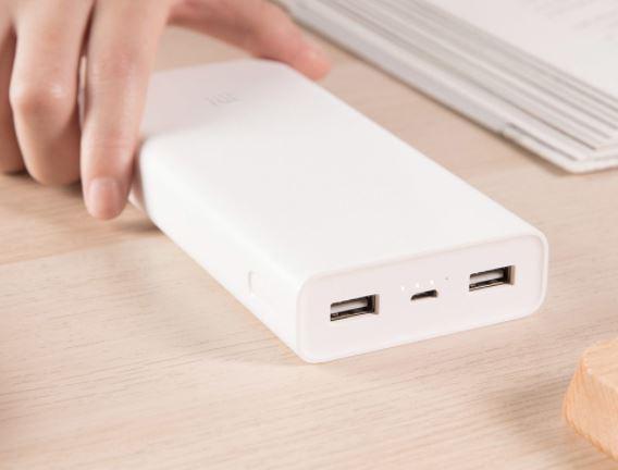 Xiaomi Mi Power 2C un powerbank con 20.000 mAh