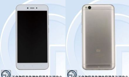 El Xiaomi Redmi 5A hace su primera aparición