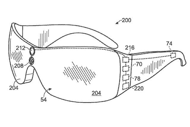 Leaked Microsoft patent application for Kinect Glasses