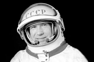 Alexei Leonov, who performed the world