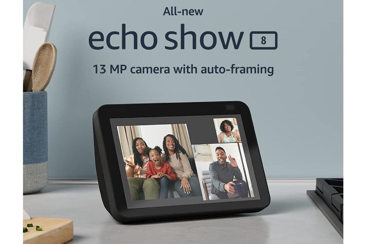 All-new Echo Show 8 (2nd Gen, 2021 release)