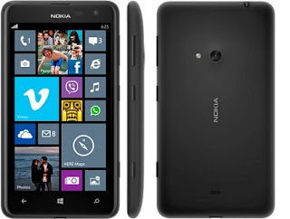 Lumia 625 Windows Smartphone