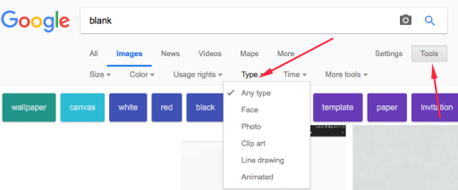 Google Image type of Image Search
