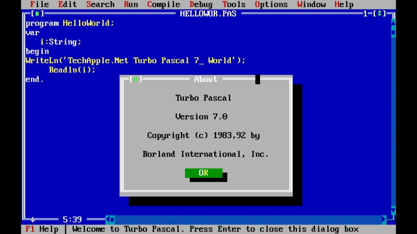 free pascal windows 7 64 bit