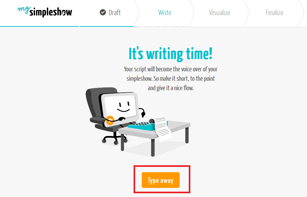 typing option