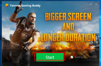 Tencent Gaming Buddy PUBG Edition Icon ---ADVERTISEMENT---