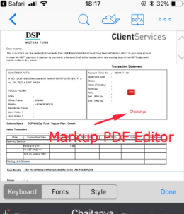 Markup Annotation Expert for PDF - iOS