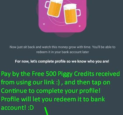 Rs.500 Credited to your Account!