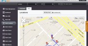 location sharing application - mSpy