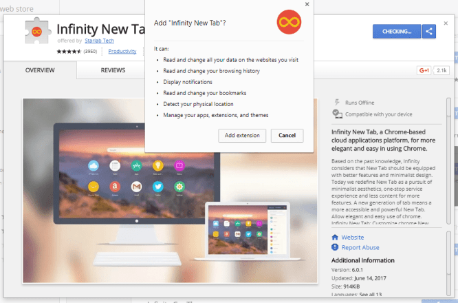 How to Customize New Tab page in Chrome - TechArea