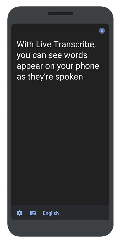 Google App Live Transcribe