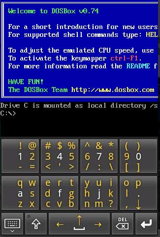 run exe file in android