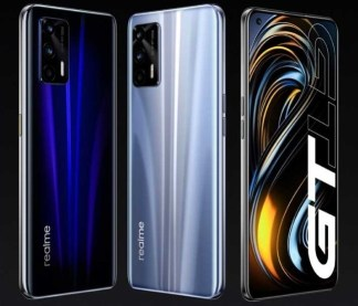Realme GT Neo release date and specifications announced. Picture showing design and colors