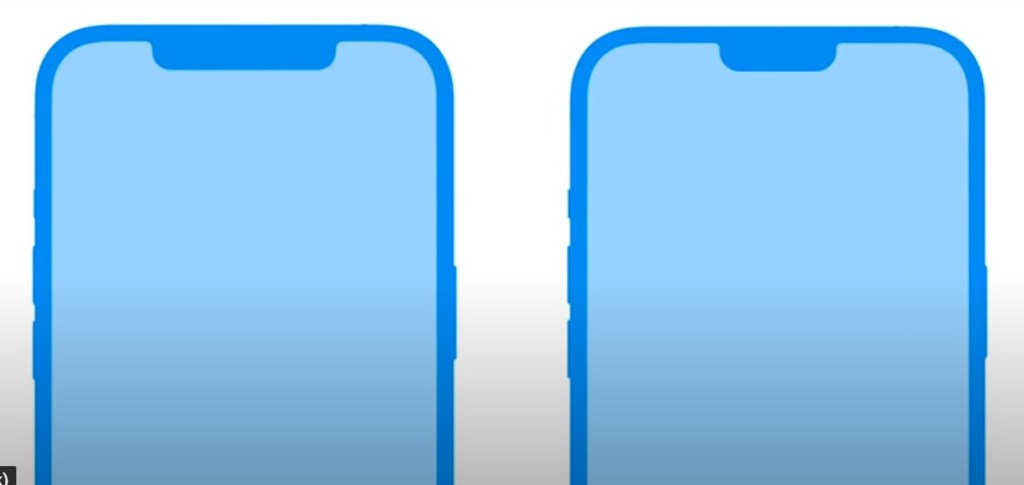 iPhone 13 notch to be thinner by 25 percent