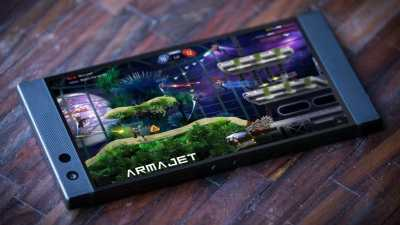 Razer Phone 2 is old but still is amongst the best phone for gaming enthusiasts as shown in the picture