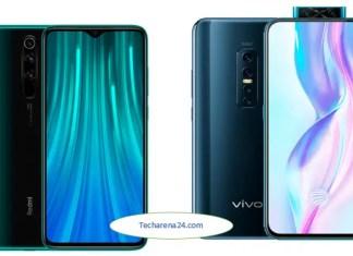 Vivo V17 Pro vs Xiaomi Redmi Note 8 Pro