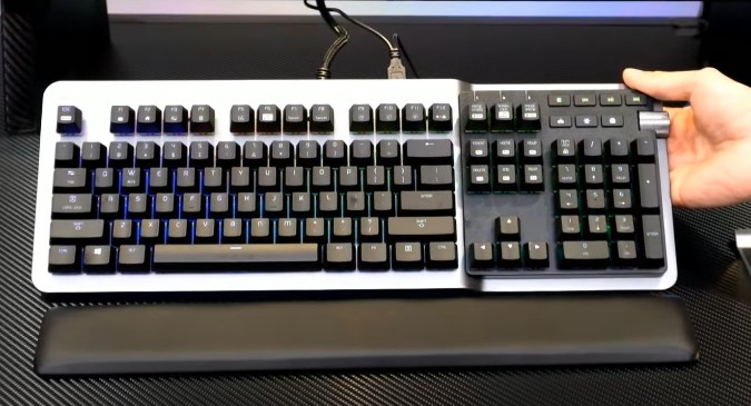 Argent K5 RGB gaming keyboard with cherry MX switches