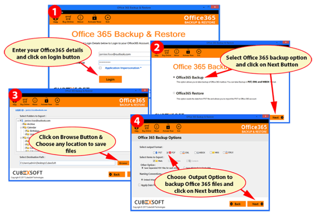 Step by Step Guide to Export Emails from Outlook Web App to PST