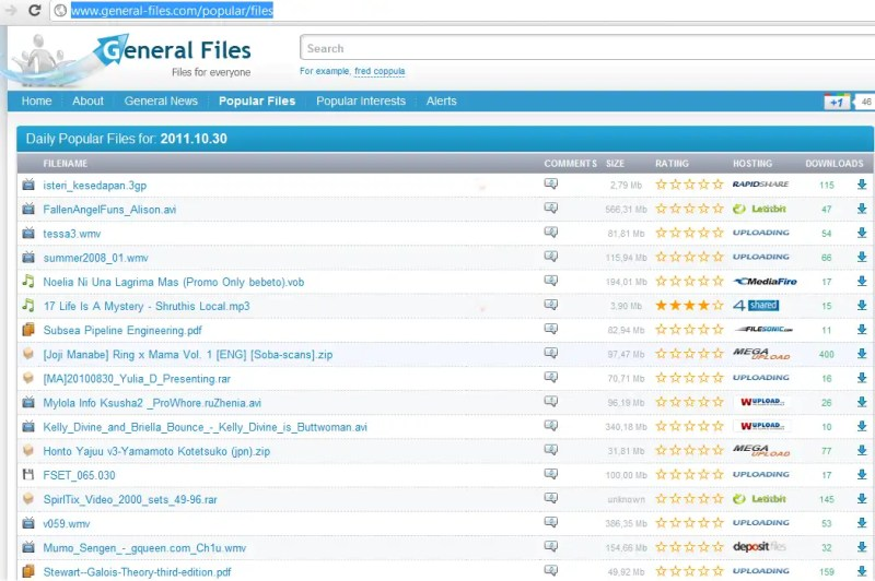General files - generalfiles.com is the best file search engine for everyone