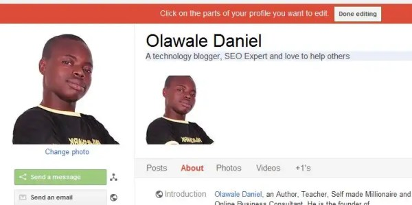 Google+ naming policy Olawale Daniel image