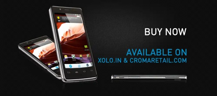 Lava Xolo X900 Intel based smartphone in India