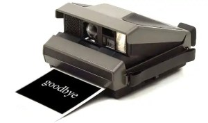 Polariod camera