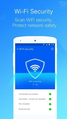 Leo Privacy Guard wifi security against hackers