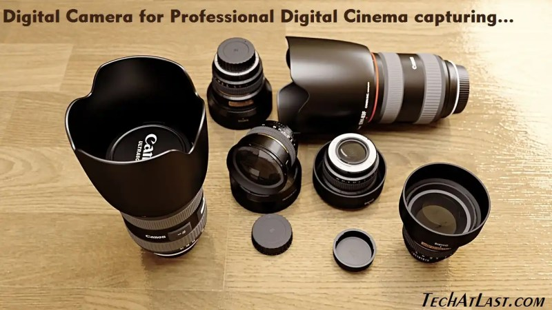 Digital Camera for Digital Cinema capturing.