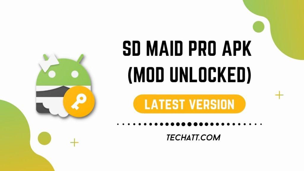 SD MAID PRO APK (MOD UNLOCKED)