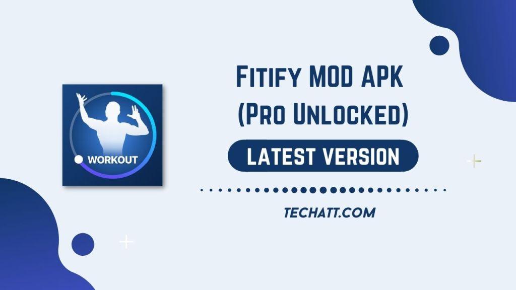 Fitify MOD APK (Pro Unlocked) Download Free