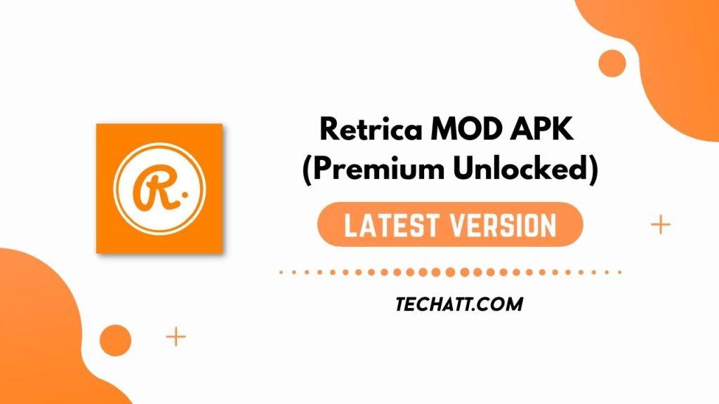 Retrica MOD APK (Premium Unlocked) Free