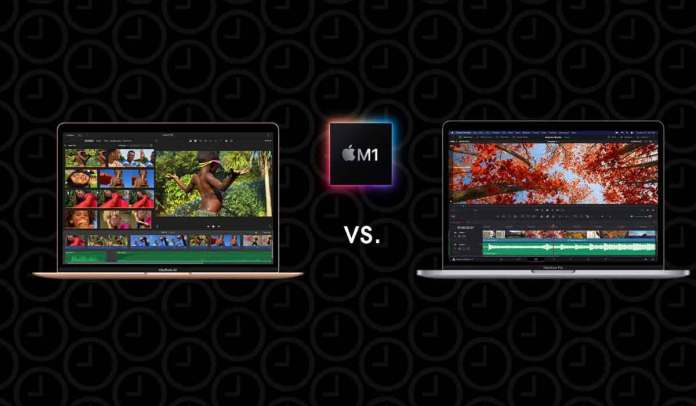 Apple Macbook Air Vs Pro 2020 M1