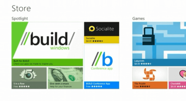 Windows 8 Store