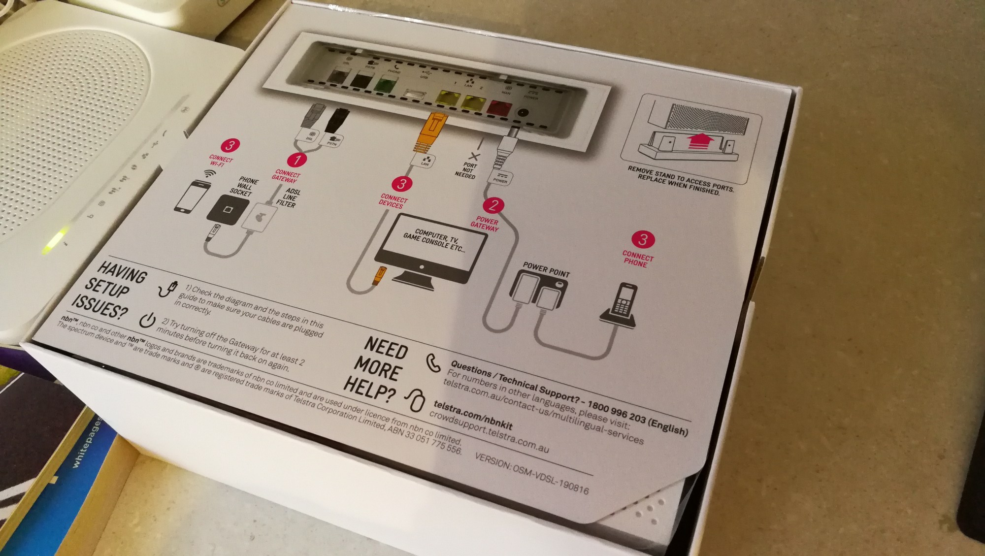 hight resolution of telstra nbn connection kit