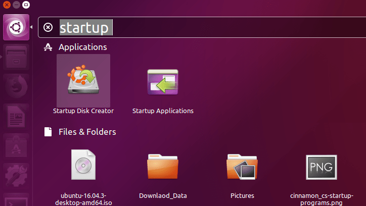 Startup Disk Creator : Create Bootable USB Disk in Ubuntu From