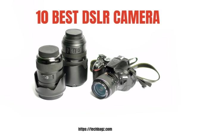 10 Best DSLR Camera Under 50000