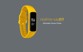 Realme Sayhat - Realme Fitness Band