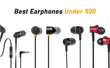 best earphones under 500 banner